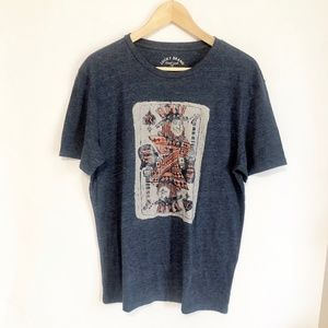 Lucky King of Spades T shirt Size L